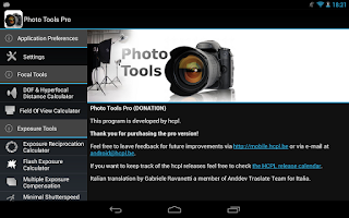 Screenshot of Photo Tools