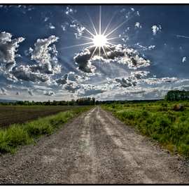 the road by Beeback AlterEgo Biba - Landscapes Travel (  )