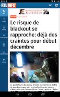 Screenshot of RTL info