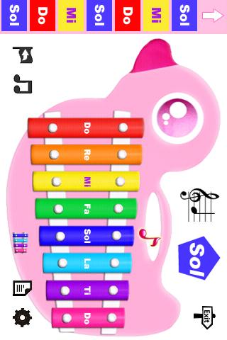 kids-piano-lite for android screenshot