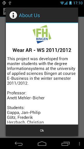 【免費社交App】Wear Ar-APP點子