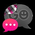 GO SMS THEME - Smooth Pink icon