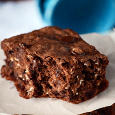 Oatmeal Chocolate Chip Brownies