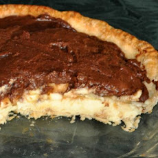 Chocolate Topped Banana Cream Pie