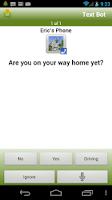 Screenshot of Text Bot