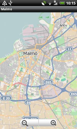 Malmo Street Map