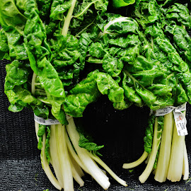 Dance Of The Greens by Rhonda Rossi - Food & Drink Fruits & Vegetables (  )