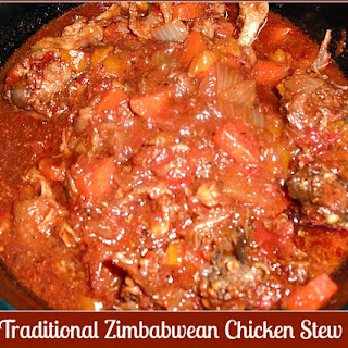 Traditional Zimbabwean Chicken Stew