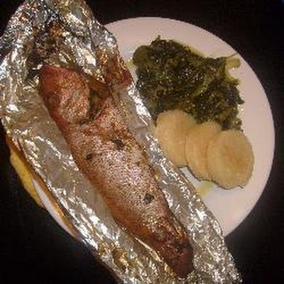 Caribbean Roast Fish