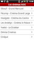 Screenshot of NOE Cinémas
