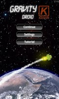Screenshot of Gravity Droid