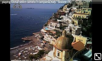 Screenshot of spy ip camera