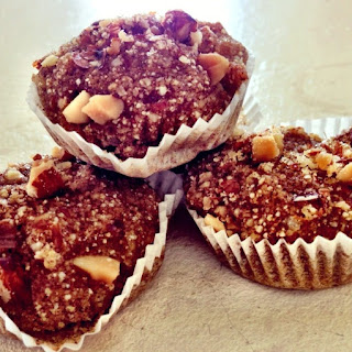 Cinnamon Sweet Potato Quinoa Muffins