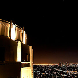 Los Angels from the Griffith Observatory by Richard Timothy Pyo - City,  Street & Park  Skylines