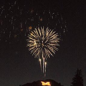 Happy Birthday America  by Denver Pratt - Public Holidays July 4th