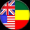 Englisch-Amharisch-Wörterbuch icon