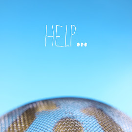 Help... by Dave Bernard - Typography Words