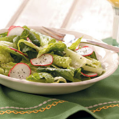 Greens with Vinaigrette
