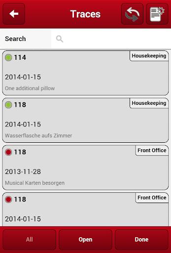 Protel Housekeeping - screenshot