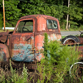 Out Of Service by Roy Walter - Transportation Automobiles ( old, truck, automobile, transportation, rust )
