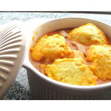 Chicken Stew Ole With Corn Dumplings