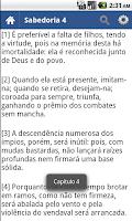 Screenshot of Bíblia em Português Offline