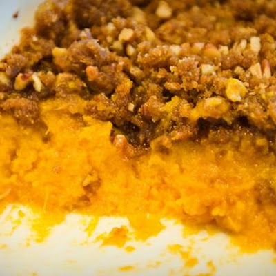 Sweet Potato Pecan Crisp