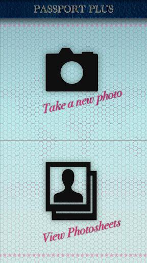 Passport Photo Plus - screenshot