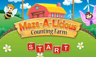 Screenshot of Mazealicious Counting Farm