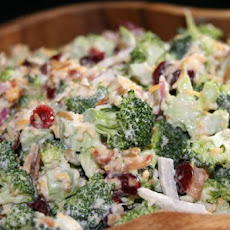 Broccoli and Cranberry Salad