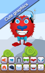 Dress up Monsters - preschools - screenshot
