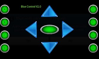 Screenshot of Blue Control