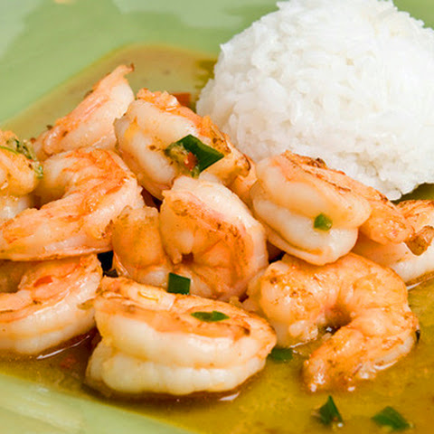 Thai-Style Ginger & Sweet Red Chili Shrimp