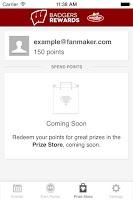 Screenshot of Badger Rewards