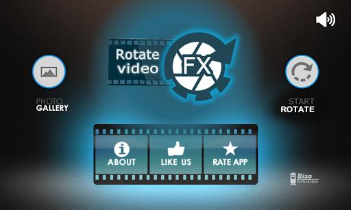 Rotate Video FX - screenshot