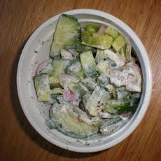 Cucumber, Dill and Horseradish Relish