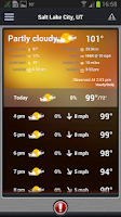 Screenshot of FOX 13 Weather