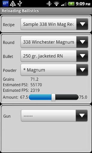 Popular 338 Cal Ballistics