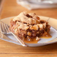 Nutty Apple Spice Cake with Quick Butterscotch Sauce