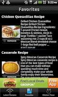 Screenshot of Raw Food Recipes