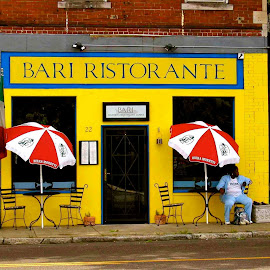 A Bari moment. by Donald Meyers - City,  Street & Park  Neighborhoods