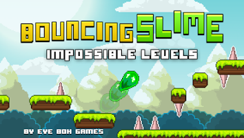 Screenshot of Bouncing Slime Impossible Game