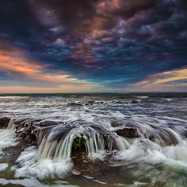 over the rocks by Budi Astawa - Landscapes Beaches ( cupel, jembrana, landscape, negara )