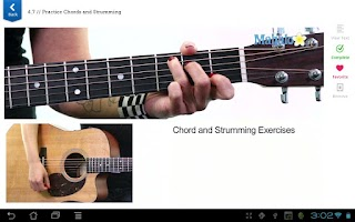 Screenshot of Learn Guitar FREE