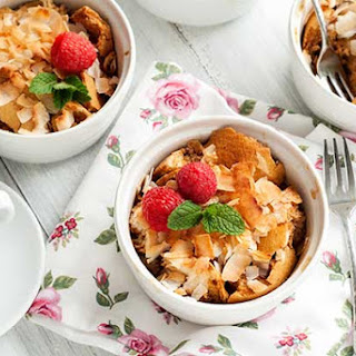 Gluten Free Coconut Bread Pudding