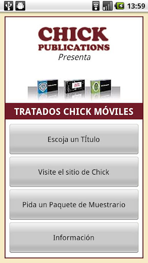 Chick Tracts - Spanish