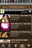 Screenshot of Latest 100 Hindi Songs