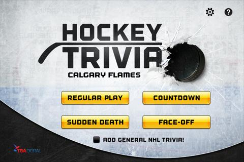Hockey Trivia-Flames