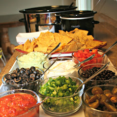 Super Bowl Nacho Bar