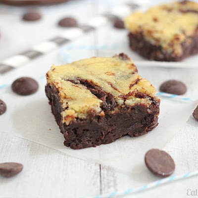 Nutella Cheesecake Swirl Brownies
